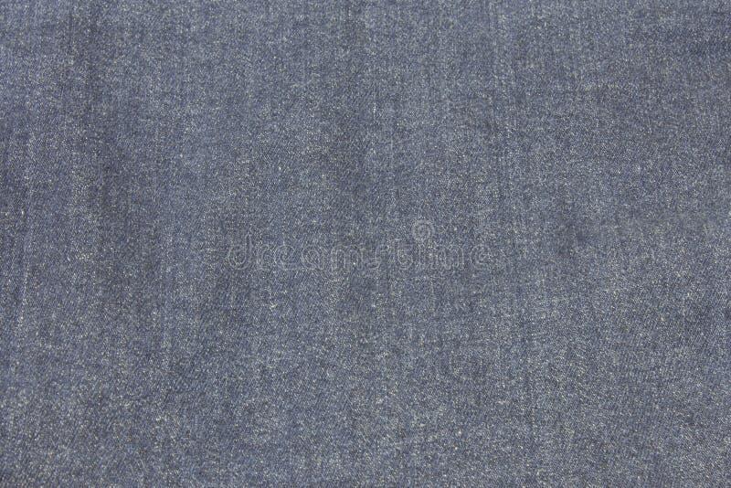Texturerad grov bomullstvilljeansbakgrund arkivfoto