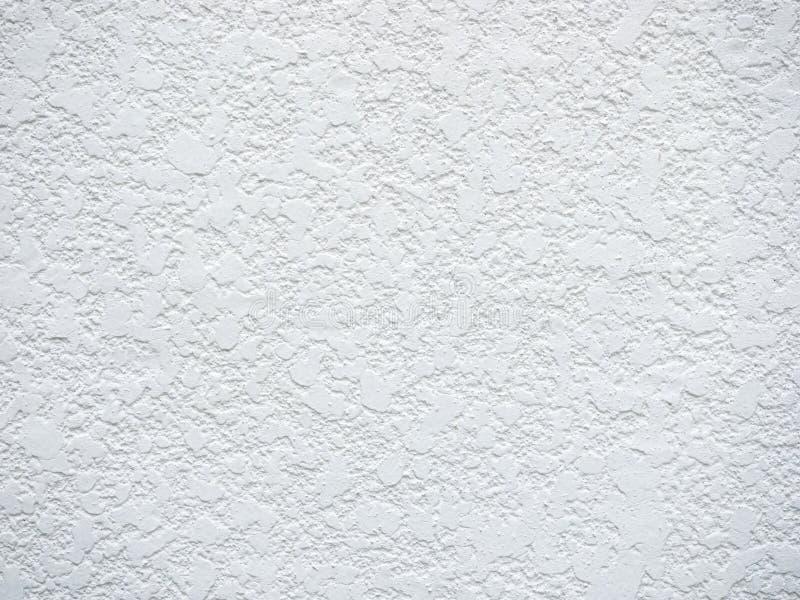 Texturerar den grova betongväggen för vit royaltyfria bilder