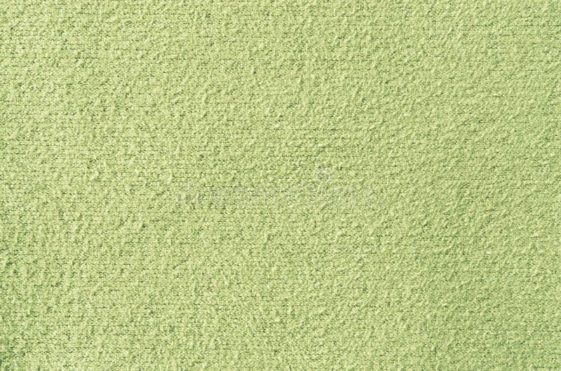 Texturerar grönt tyg för pastell royaltyfria bilder