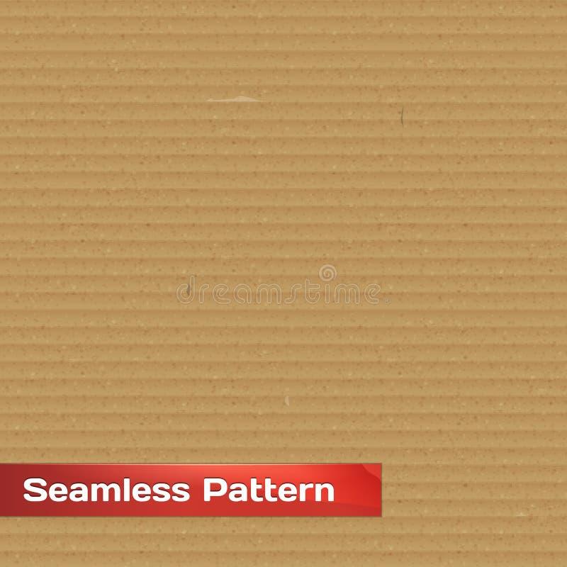 Realistisk papp texturerar vektor illustrationer