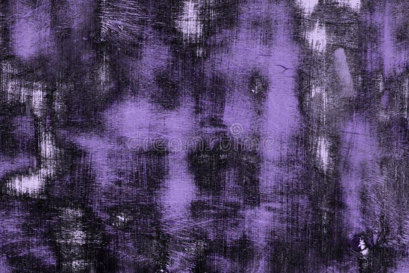 Texturerar träyttersida för purpurfärgad tappning med olika stora skrapade fläckar - gullig abstrakt fotobakgrund royaltyfri illustrationer