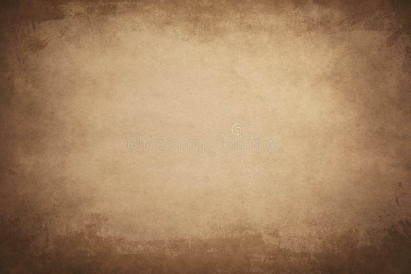 Texturerat av papper för tappningbruntfärg royaltyfri fotografi