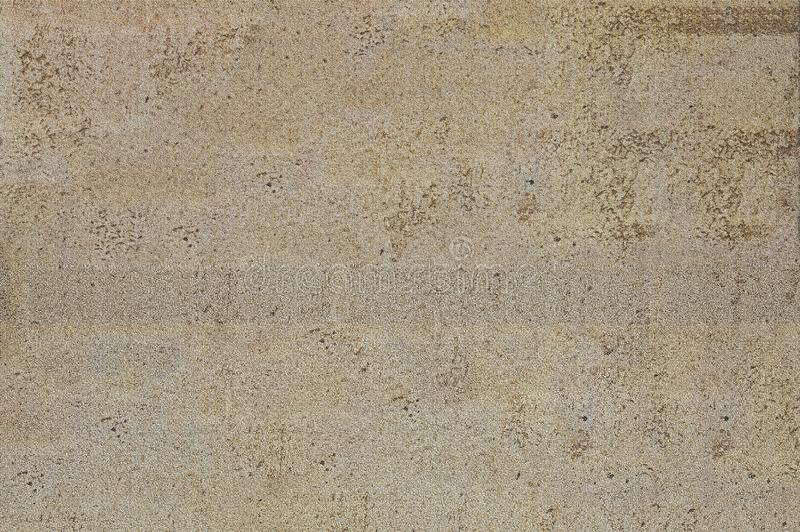 Texturerna av murbruken, som är under en tegelsten Bakgrund texturerad grått och brunt arkivfoton
