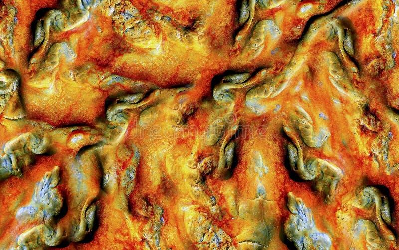 Textures abstraites de roche photos stock