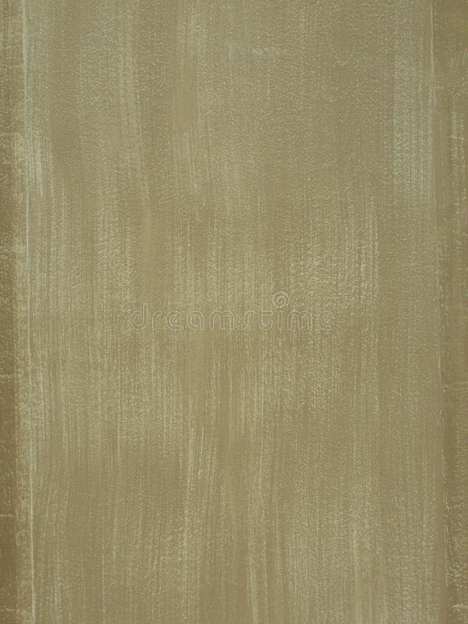 Textures of beige painted wall with brush strokes stock image