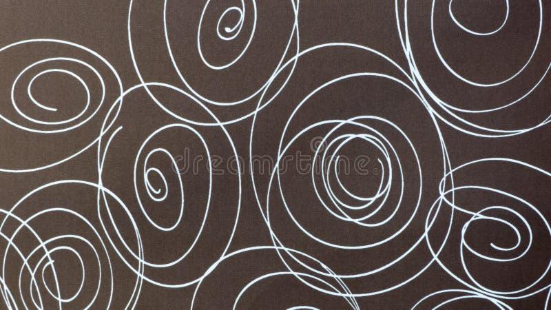 Textures de Brown avec le fond de modèle photos stock