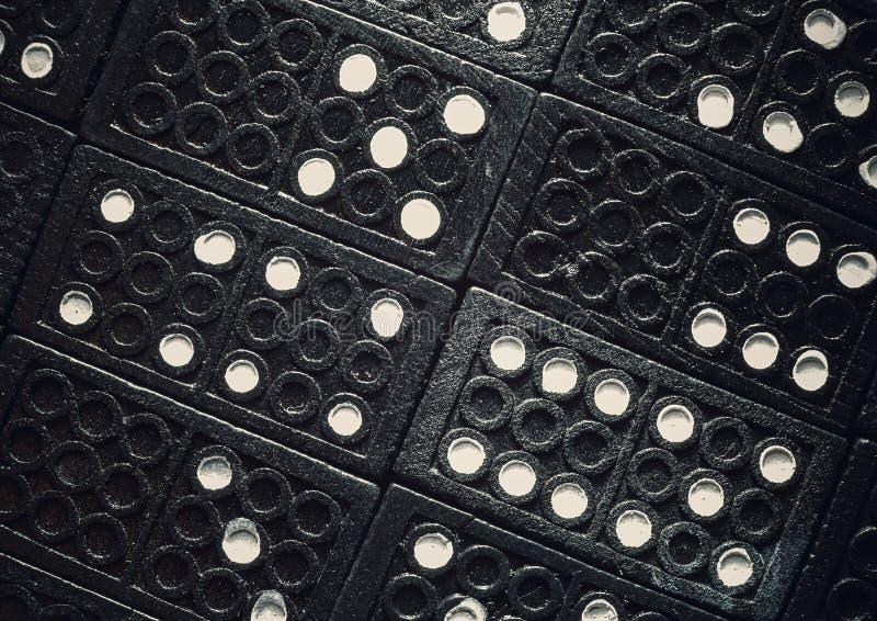 Textures de dominos images stock