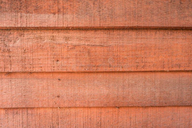 Textures de fond ou vieux papiers peints en bois ?tendus dans l'horizontal et orange-clair dans le r?tro style photo stock