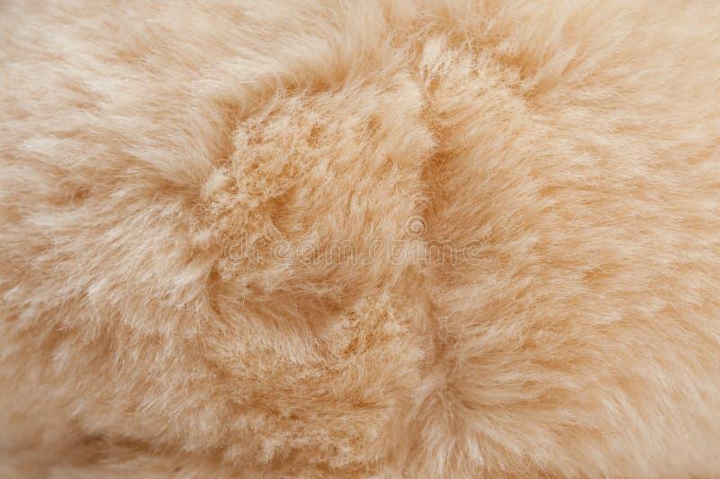 Textures de fourrure artificielle photographie stock