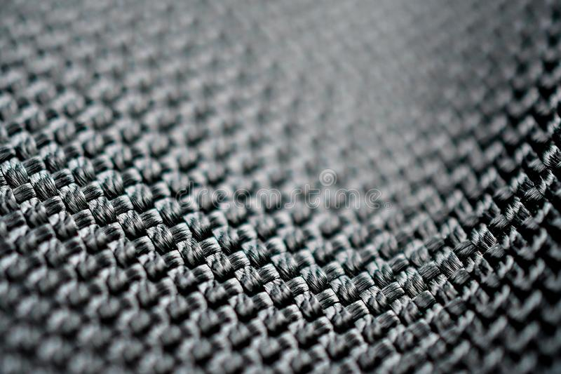 Textures de macro de tissus de polyester image stock