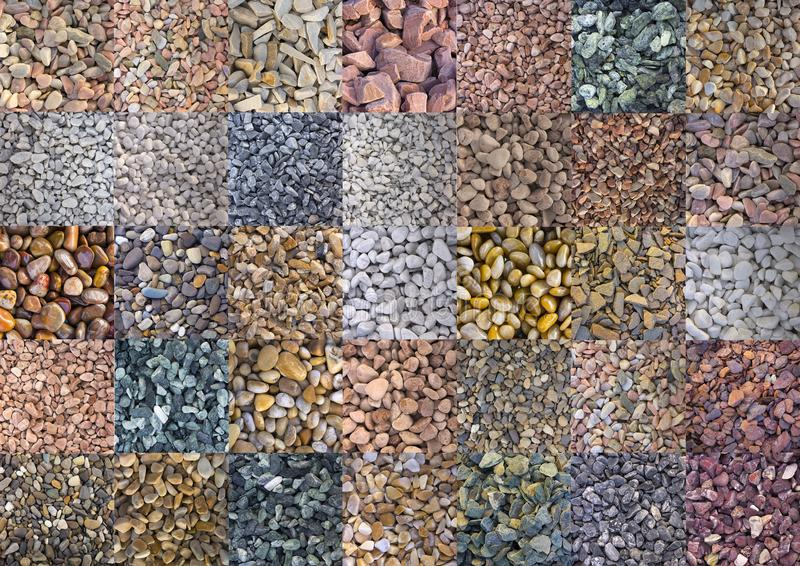 Textures de marbre de couleur, collage de tuiles de mosaïque photo libre de droits