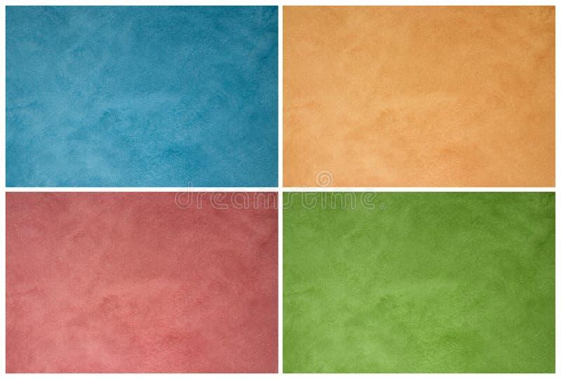 Textures de mur images stock