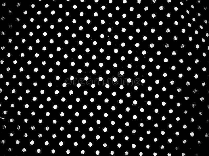 Textures en noir et blanc de motif en point de tissu photographie stock libre de droits