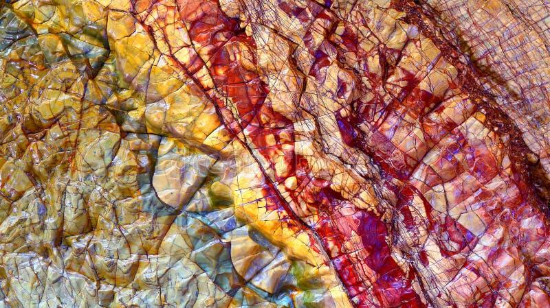 Textures en pierre de marbre photos stock