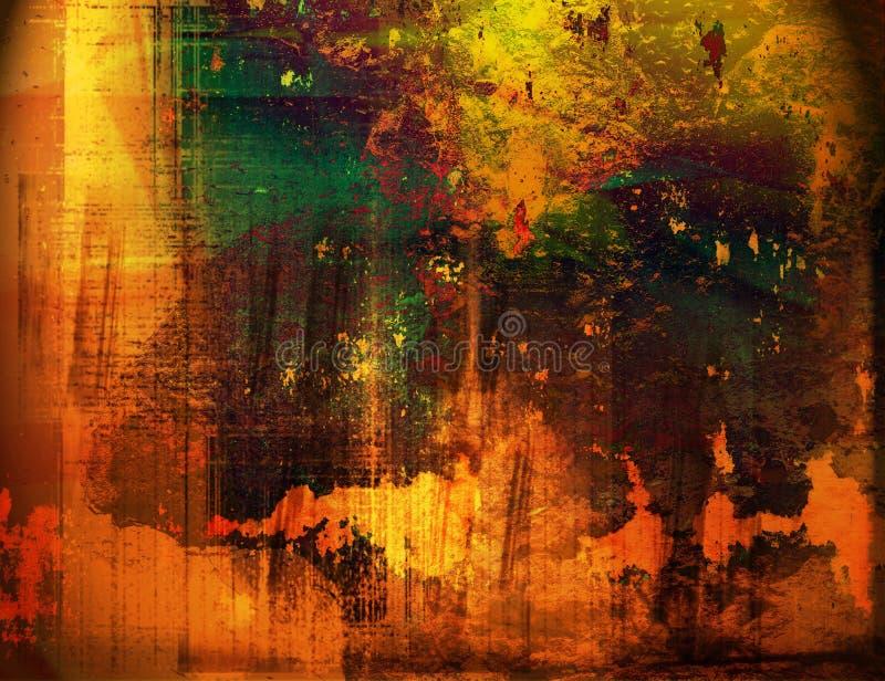 Textures et milieux illustration de vecteur