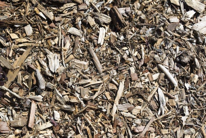 Textures et milieux abstraits : Couverture végétale/paillis d'écorce photographie stock libre de droits