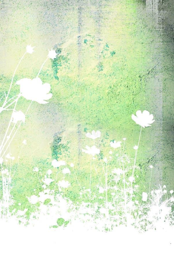 Textures et milieux abstraits de fleur image stock