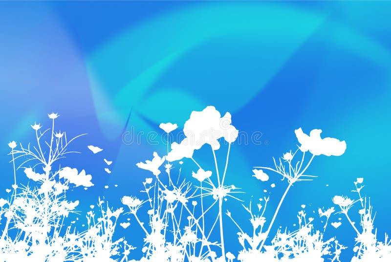 Textures et milieux abstraits de fleur illustration stock