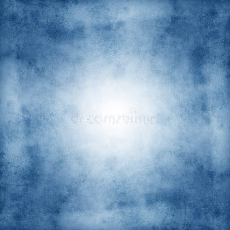 Textures et milieux de papier grunges bleus photo stock