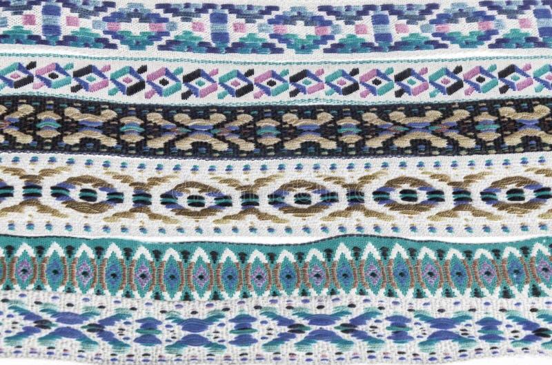 Textures indiennes indigènes de tissu de bandeau photo libre de droits