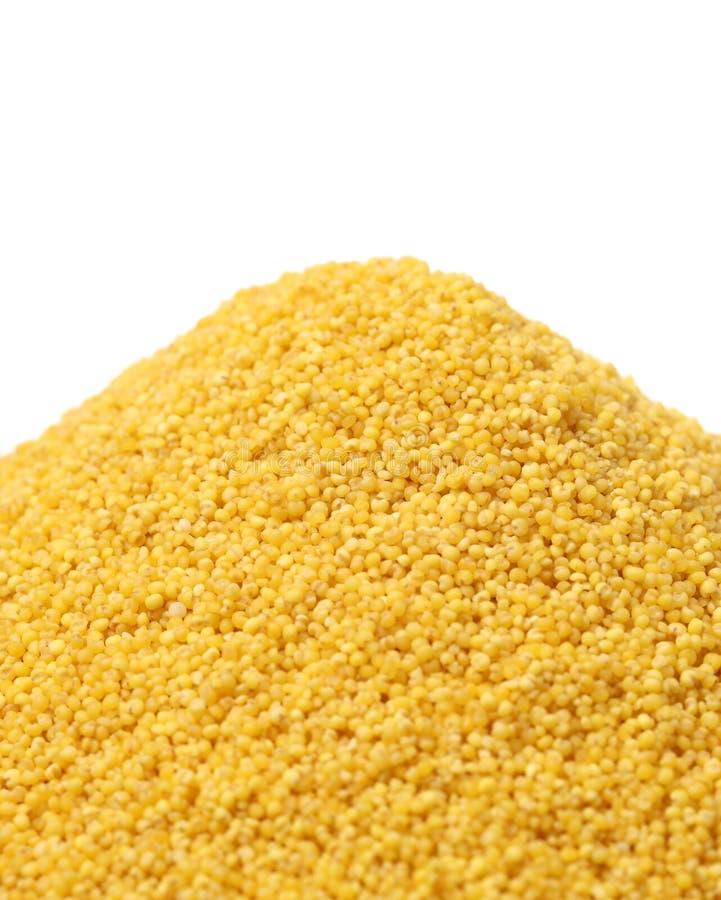 Textures jaunes de millet dans le volume Textures abstraites photos stock