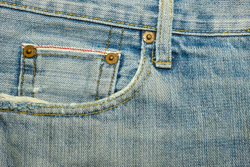 Textures of jeans. Denim jeans textures background blue stock photo