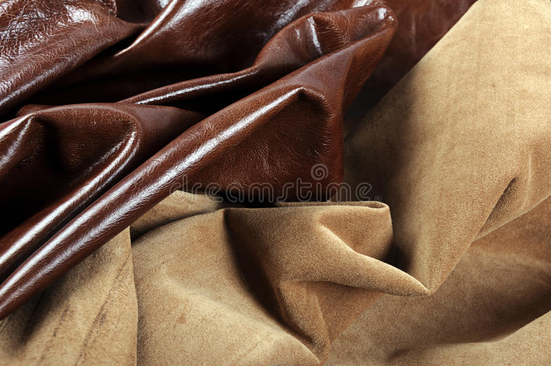 Textures of leather