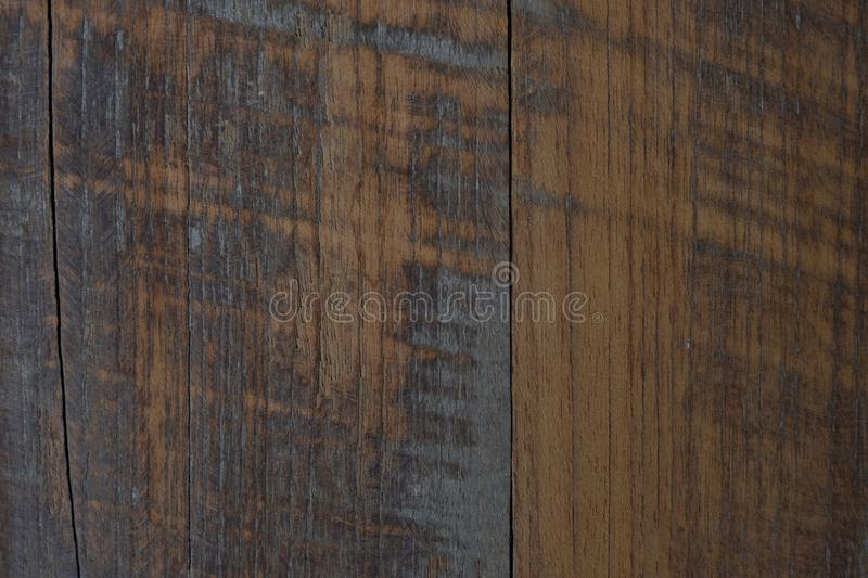 Textures and patterns of old wood.Very old wood in vintage tones royalty free stock image