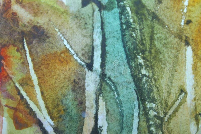 Textures peintes abstraites de fond Fond coloré abstrait image stock