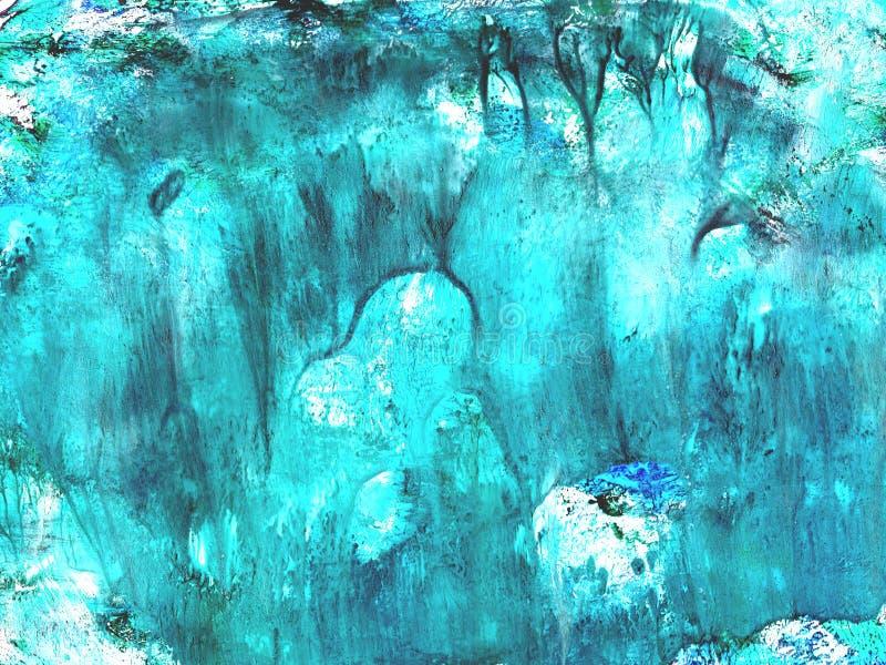 Textures peintes ? la main, aquarelle, gouache, baisses de peinture, courses de peinture Concevez pour des milieux, des papiers p photos libres de droits