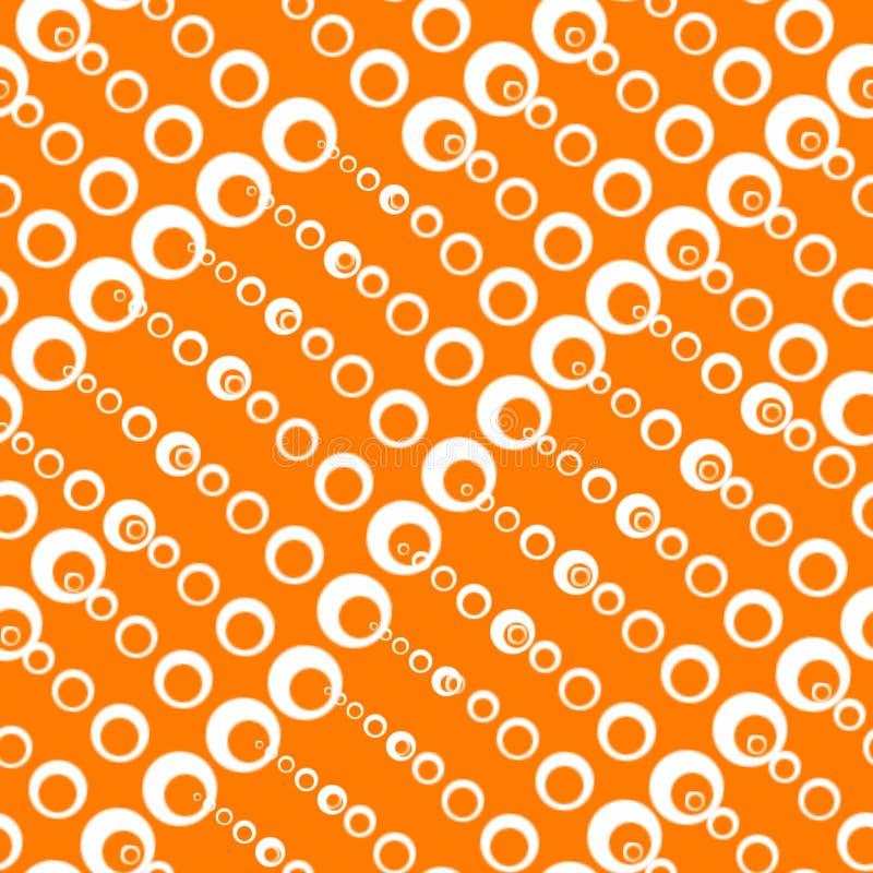 Textures sans couture avec des cercles de différentes tailles images stock