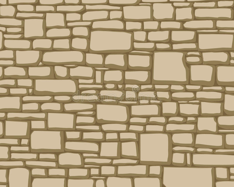 Textures of stones. Seamless background of stone textures vector illustration