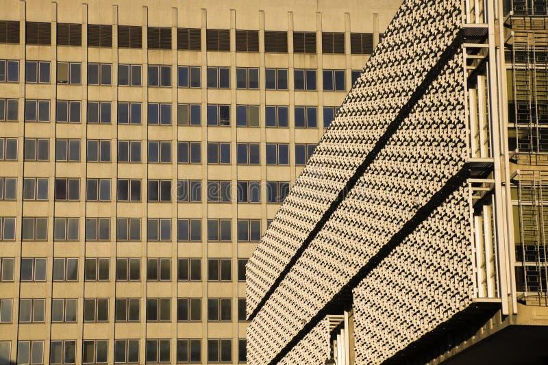Textures sur des constructions à Memphis du centre photographie stock libre de droits