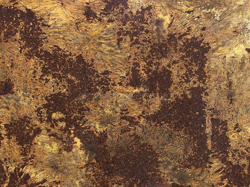 Textures sur le métal image libre de droits