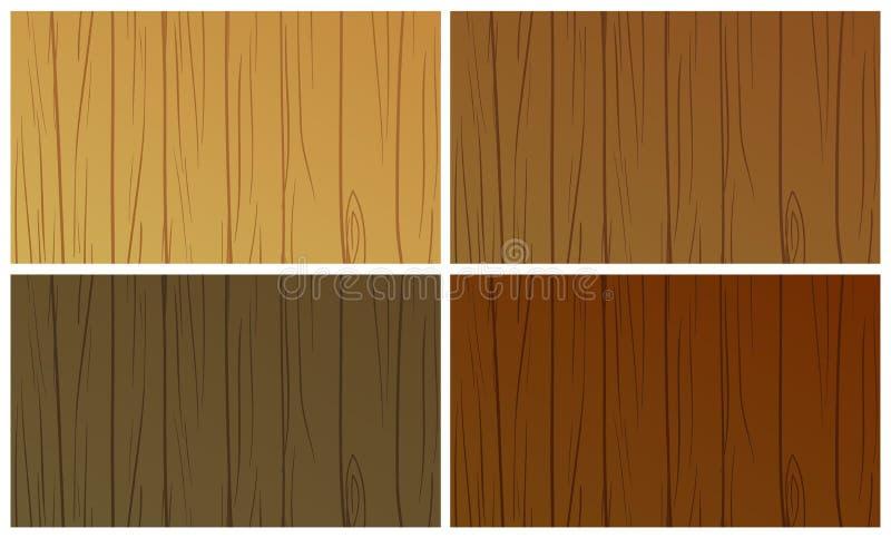 textures trä vektor illustrationer