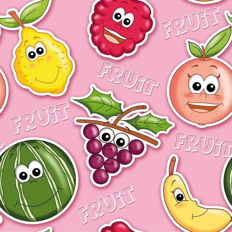 Texturice con la fruta 1 imagen de archivo libre de regalías