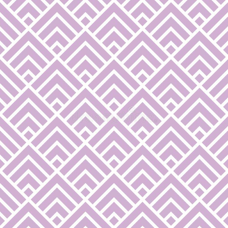 Texturisée fond sans couture formé rétro par flèche illustration de vecteur