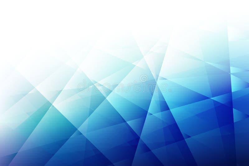Texturiza el fondo azul abstracto de cristal del color libre illustration