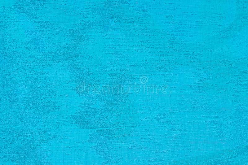 Texturized blue putty. Vintage or grungy background of venetian stucco texture stock images