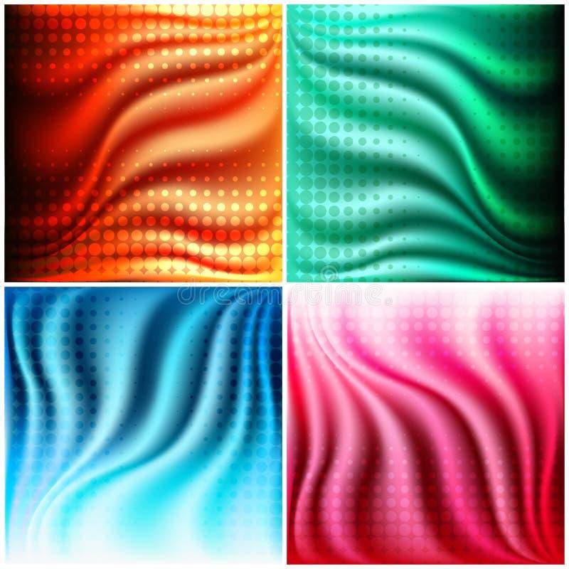 Texturuppsättning vektor illustrationer