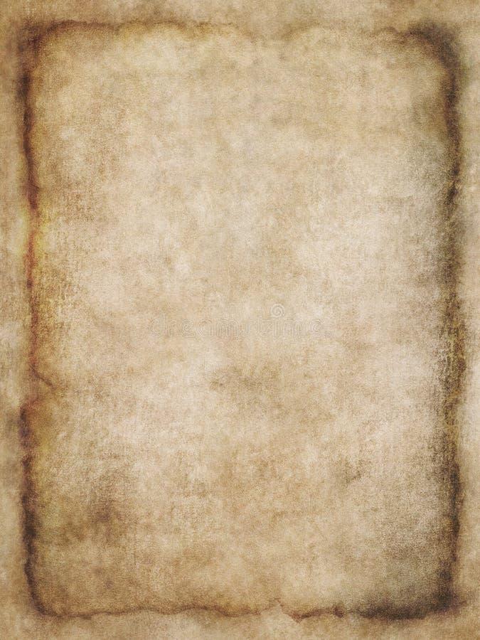 Textuur 3 van het perkament stock foto