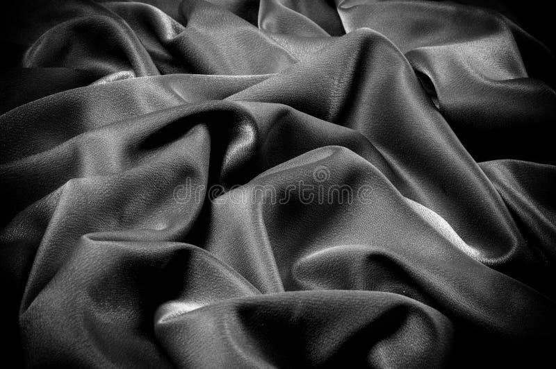 Textuur, achtergrond malplaatje De schooldoek is zwart, grijs royalty-vrije stock foto's