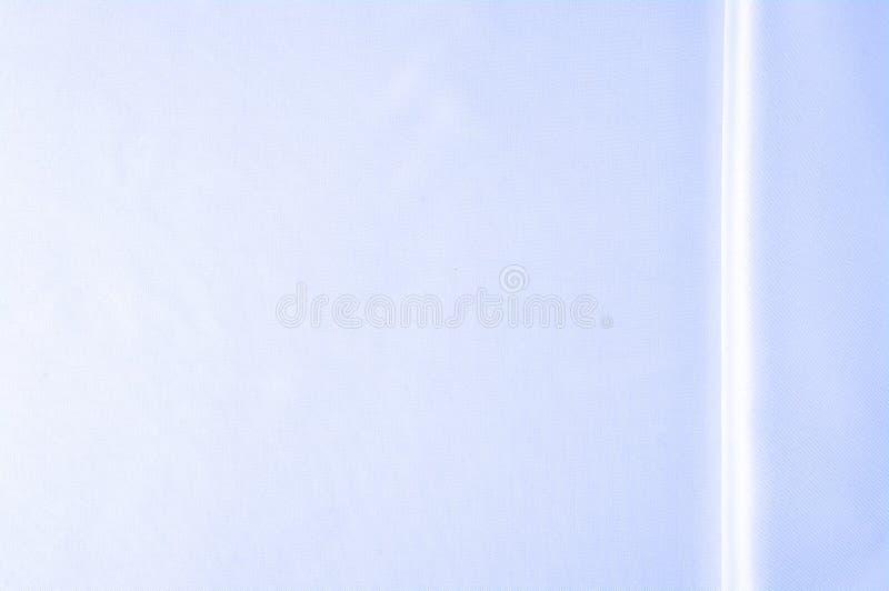 Textuur, achtergrond, patroon Blauwe zijdestof, Vlotte elegante B royalty-vrije stock fotografie