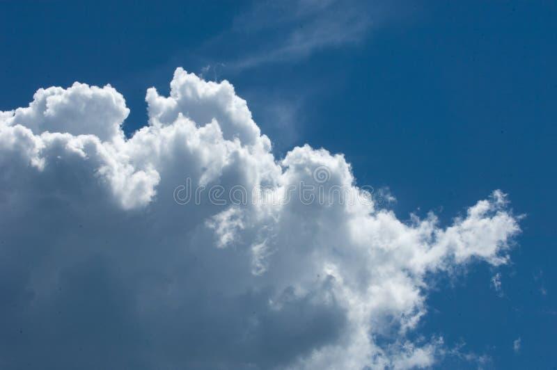Textuur, achtergrond, patroon Cumulonimbus wolken cumulonimbus royalty-vrije stock foto
