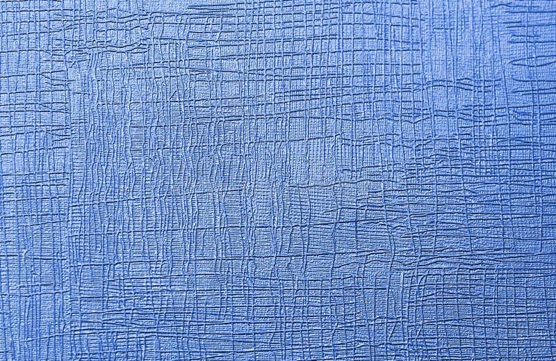 Textuur blauwe abstracte tekening in verschillende richtingen frequente vlotte golven royalty-vrije stock afbeeldingen