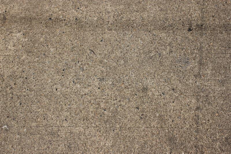 Textuur Bruine Concrete bestrating royalty-vrije stock fotografie