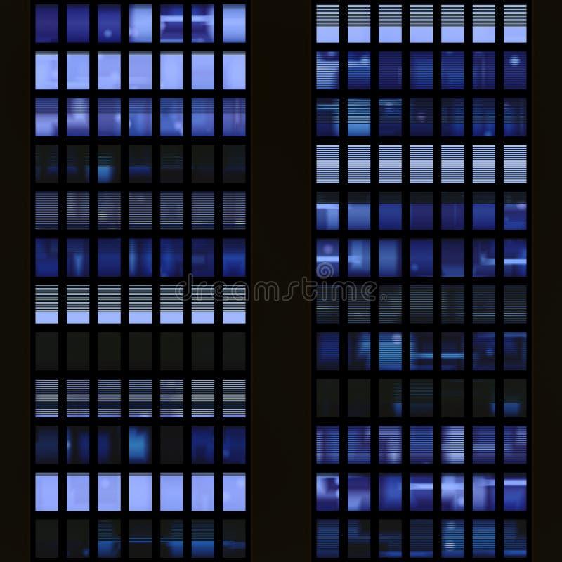 Textuur die op vensters van sk lijkt royalty-vrije stock afbeeldingen