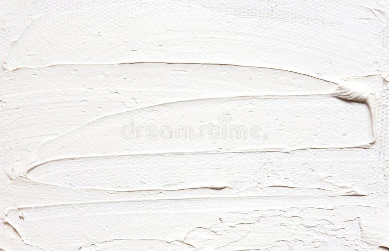 Textuur die witte abstracte achtergrond schilderen stock afbeelding