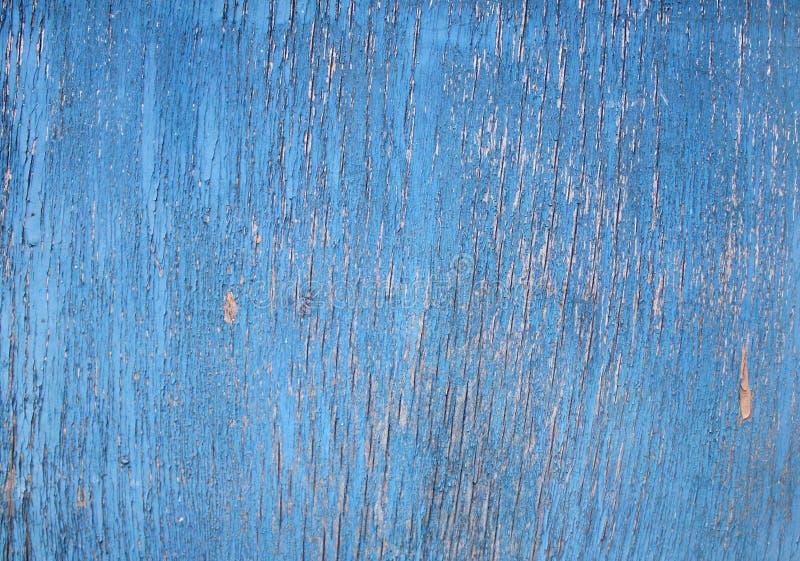 Textuur - gebarsten verf op een houten oppervlakte royalty-vrije stock foto