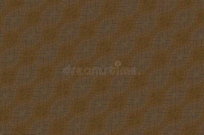 Textuur houten canvas met een patroon driedimensionele polyhedro stock illustratie
